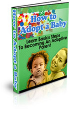Product picture Adopt a Baby - How to have a new member in your life