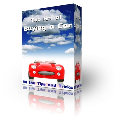 Product picture The Art of Buying a Car - What to know when buying a car