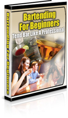 Product picture Bartending Book - Learn how to be successful bartender