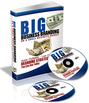 Product picture Big Business Branding On A Small Business Budget