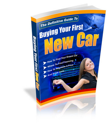 Product picture The Definitive Guide To Buying Your First New Car